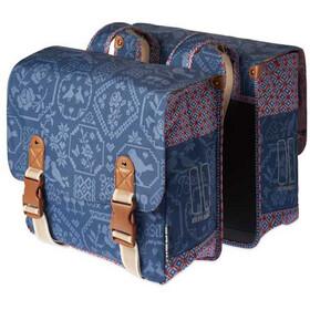 Basil Bohème Gepäckträger Doppel-Tasche 35l indigo